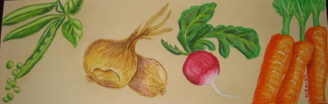 legumes du potager   VENDU